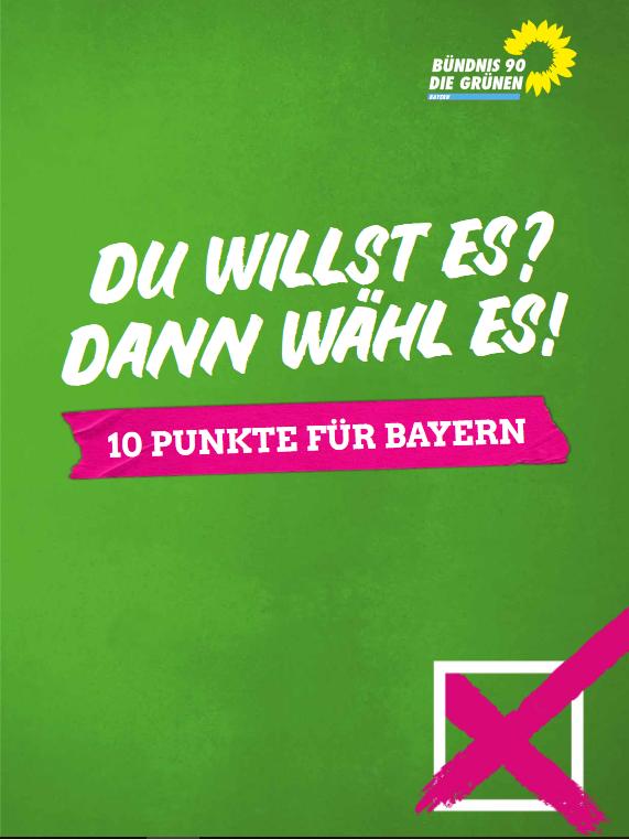 10-Punkte-Programm für Bayern