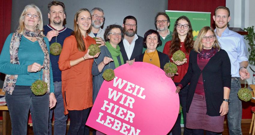 Kreistagsliste und Landratskandidat Grüne Ostallgäu
