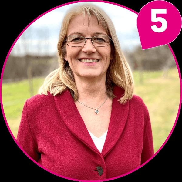 Dr. med. vet Ursula Schuster Kandidatin Kreistagsliste Bündnis 90 / Die Grünen