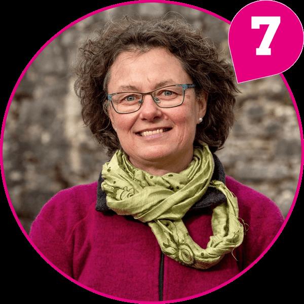 Christine Räder Kandidatin Kreistagsliste Bündnis 90 / Die Grünen
