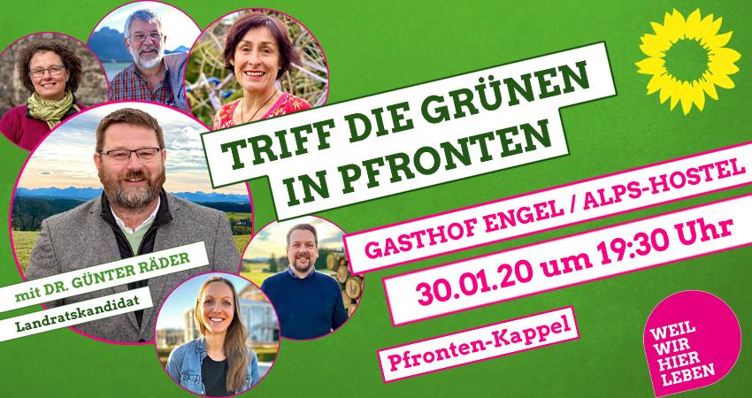 Grüne Füssen Pfronten Ostallgäu Dr. Günter Räder