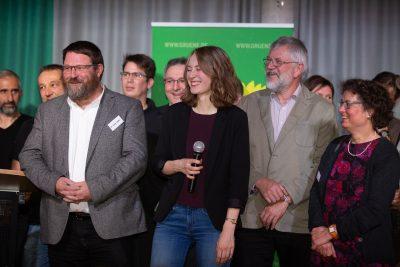 Grüner Neujahrsempfang mit Günter Räder Landrat Ostallgäu