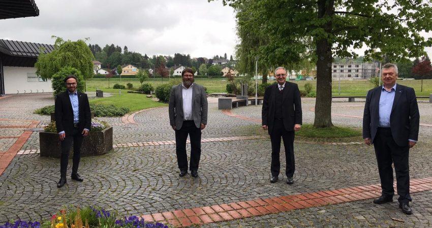 Fraktionssprecher nach der konstituierenden Kreistagssitzung Ostallgäu 2020