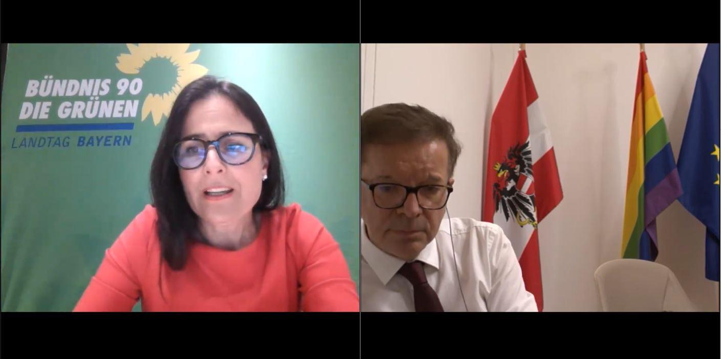 Das Virus kennt keine Grenzen: Online-Gespräch mit österreichischem Gesundheitsminister