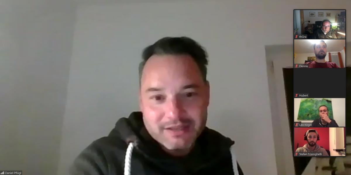 Daniel Pflügls Antworten bei unserer digitalen Mitgliederkonferenz