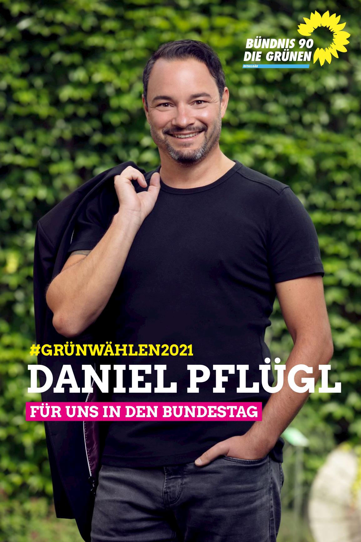 Daniel Pflügl Bundestagswahl Ostallgäu 2021